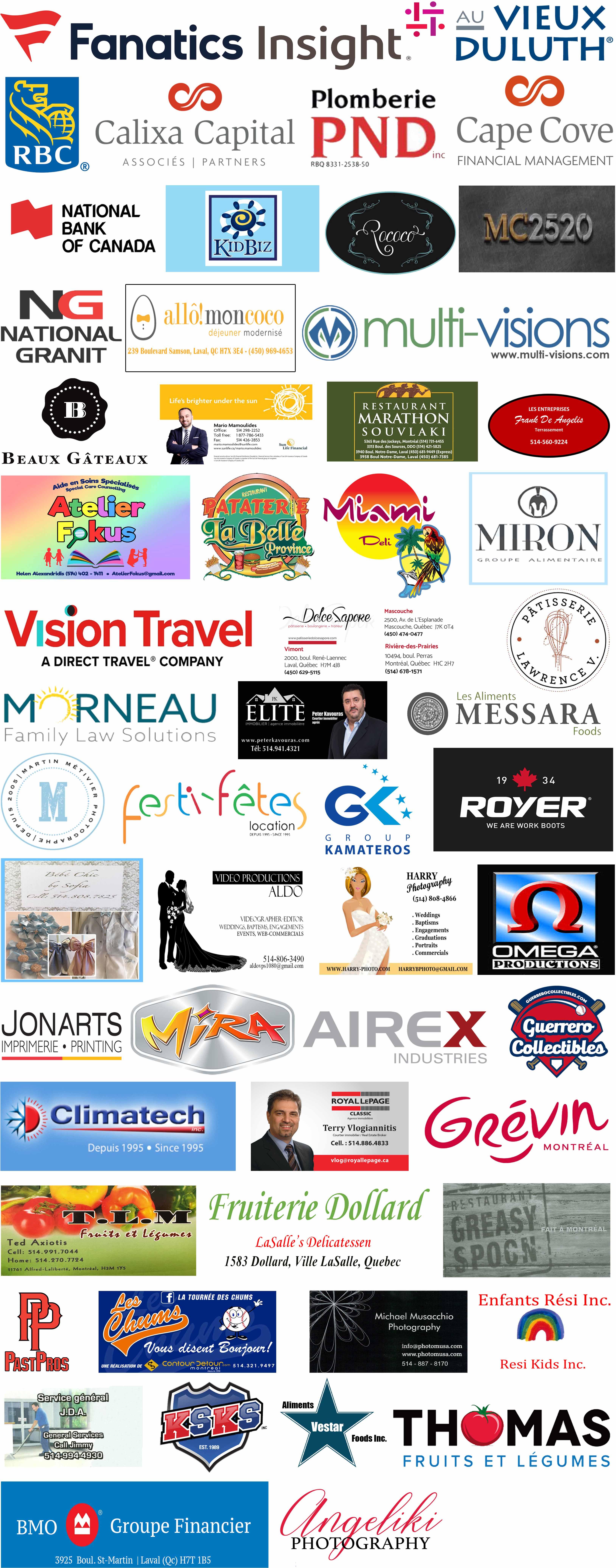 Sponsor Page Gala 2019
