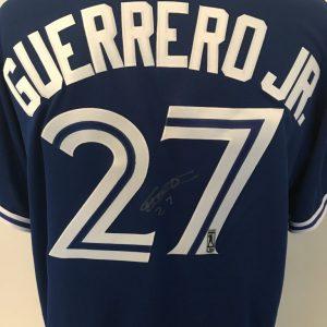 Away Jersey signed by Vladimir Guerrero Jr.