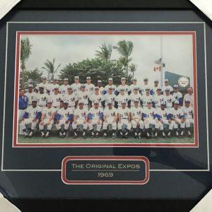 Cadre de l'équipe 1969 des Expos