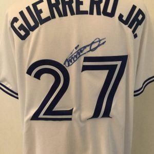 Jersey (domicile) signé par Vladimir Guerrero Jr.