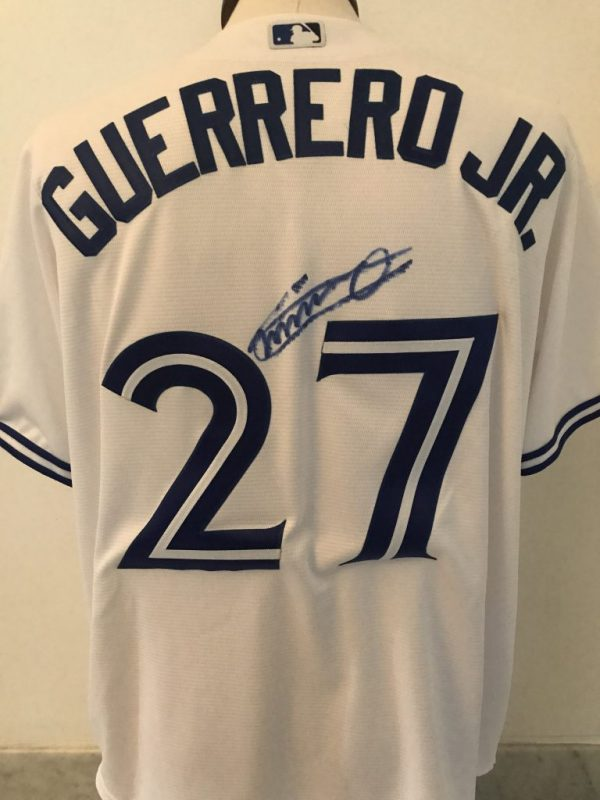 Home Jersey signed by Vladimir Guerrero Jr.