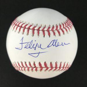Balle signée par Felipe Alou