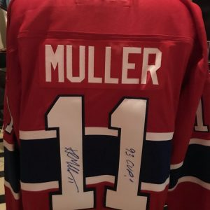 Official Jersey signed by Kirk Muller