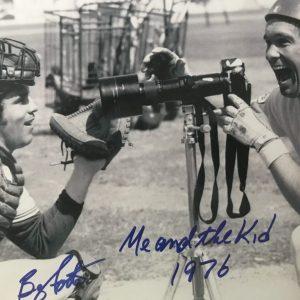 Photos signées par Ron Hunt et Barry Foote
