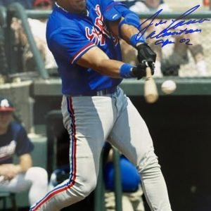 Photo 8x10 signed by Jose Canseco  « Almost an Expo 02 »