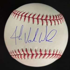 Official Mlb Rob Manfred baseball signed by John Vander Wal