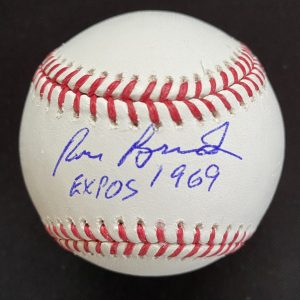 Official Mlb Rob Manfred baseball signed by Ron Brand