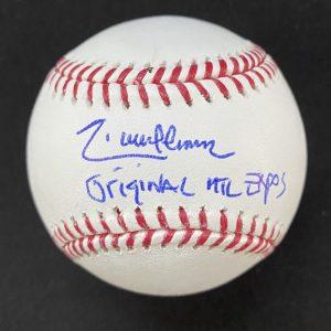 """Balle de baseball officielle Rob Manfred signée par Randy Johnson """"Original Montreal Expos"""""""