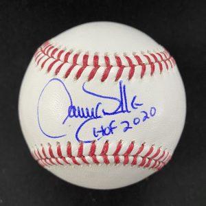 Balle de baseball officielle Rob Manfred signée par Larry Walker. Hof 2020
