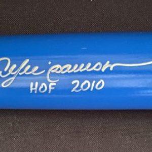 B45 Baseball bat signed by Andre Dawson with Hof 2010 inscription.