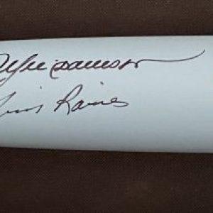 Bâton B45 édition limitée (30) signé par Andre Dawson et Tim Raines. Les 2 seuls voltigeurs qui ont été intronisés au Temple de la renommée en tant qu'Expos.
